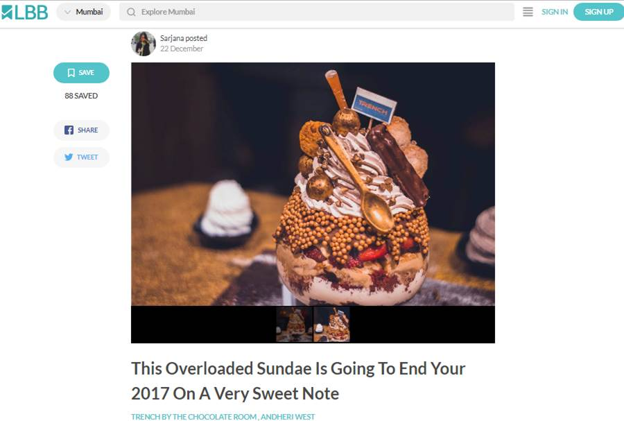 This Overloaded Sundae Is Going To End Your 2017 On A Very Sweet Note
